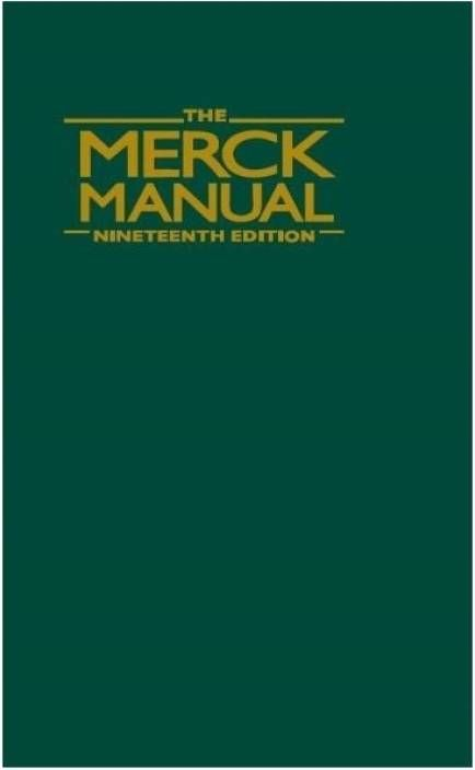 The Merck Manual of Diagnosis and Therapy - 19th edition --- mebooksfree.com