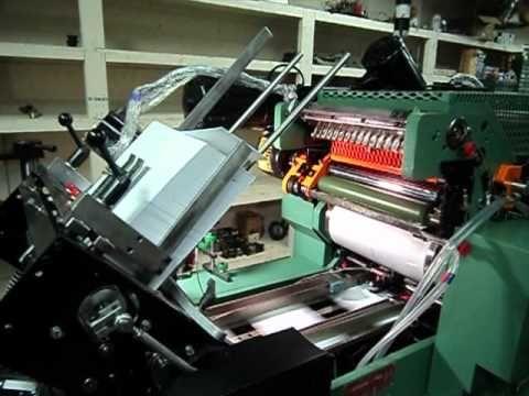 ▶ 2012 rebuilt halm super jet 2 color envelope press sn 2271rc LIKE NEW with MIP for sale jp-twod-6d - YouTube