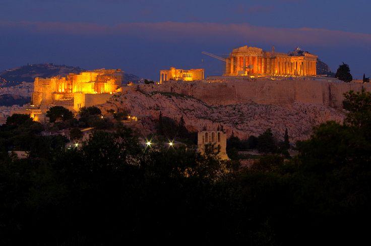 ATHENS The Acropolis at dusk   85482824.jpg (1280×850)