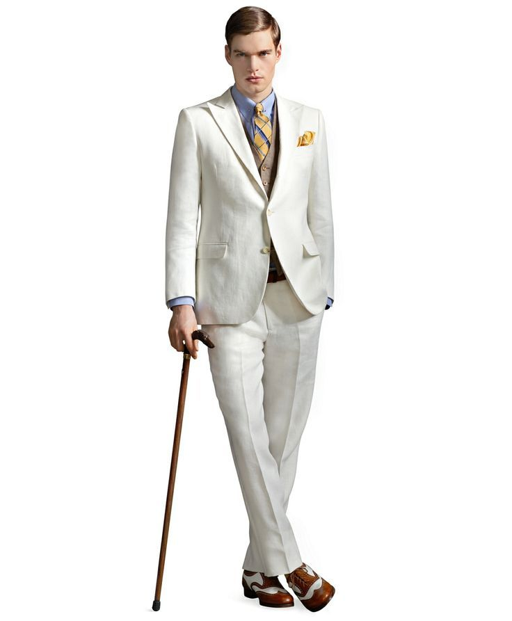 1920s Great Gatsby Groom Summer Top Five Grooms & Groomsmen Trends for 2014