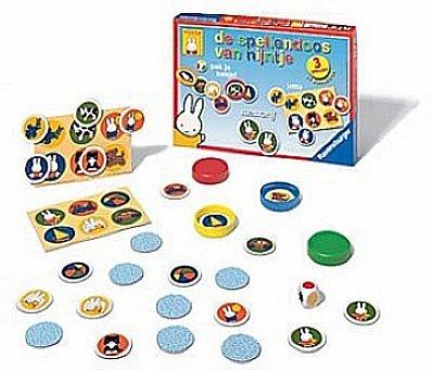 De spellendoos van Nijntje bevat 4 leuke en leerzame kinderspelletjes. Deze Nijntje spelletjes zijn geschikt voor een kind vanaf 3 jaar. #spellendoos #speelgoed #Nijntjespeelgoed