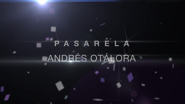 Pasarela Andrés Otálora (CaliExposhow 2015)  www.CityCali.com