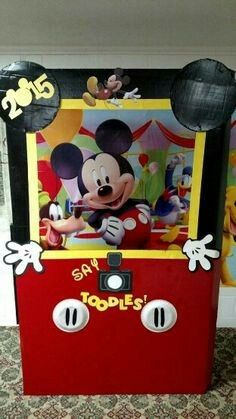 Cumple Mickey Mouse | Photo Booth Mickey Mouse