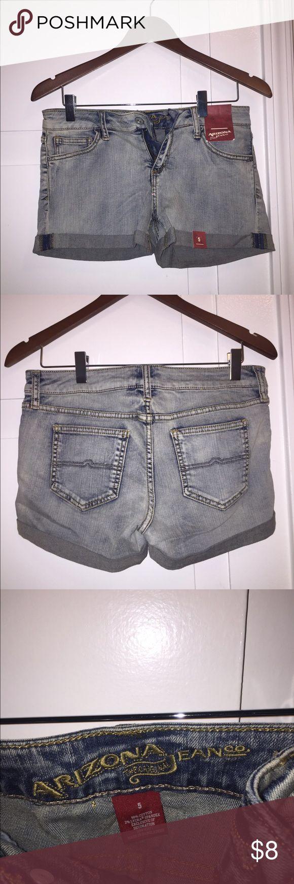 Arizona Jean Co. Blue Jean Shorts Brand new with tags Arizona Jean Co. blue jeans shorts in size 5. Arizona Jean Company Shorts Jean Shorts