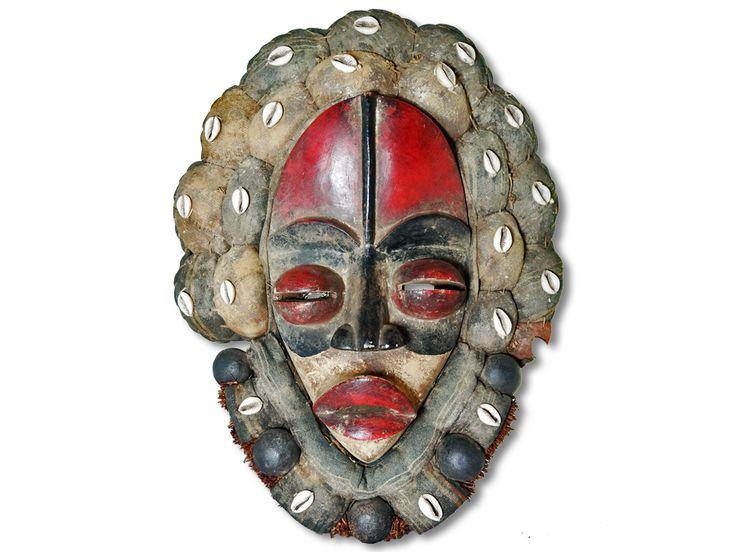 Maske der Dan Liberia/Afrika 40cm kaufen