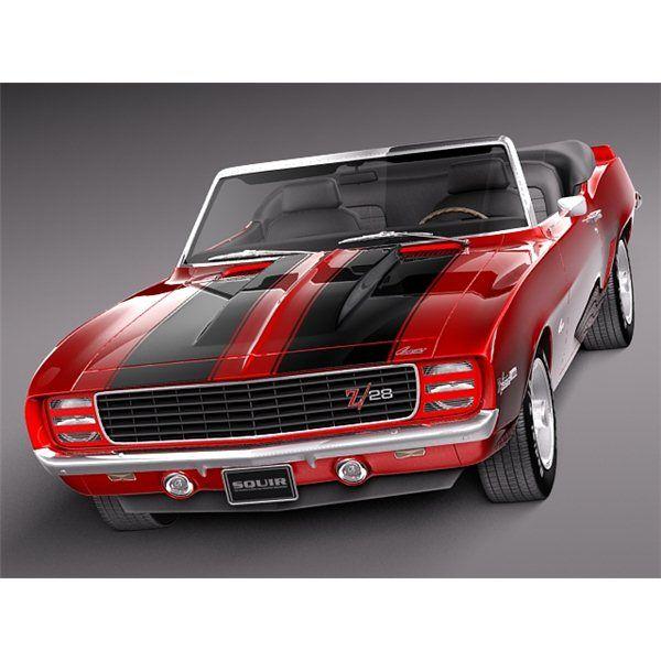 48 Best Chevrolet Camaro 69 Images On Pinterest