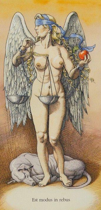 XI. Justice ~ Dürer Tarot