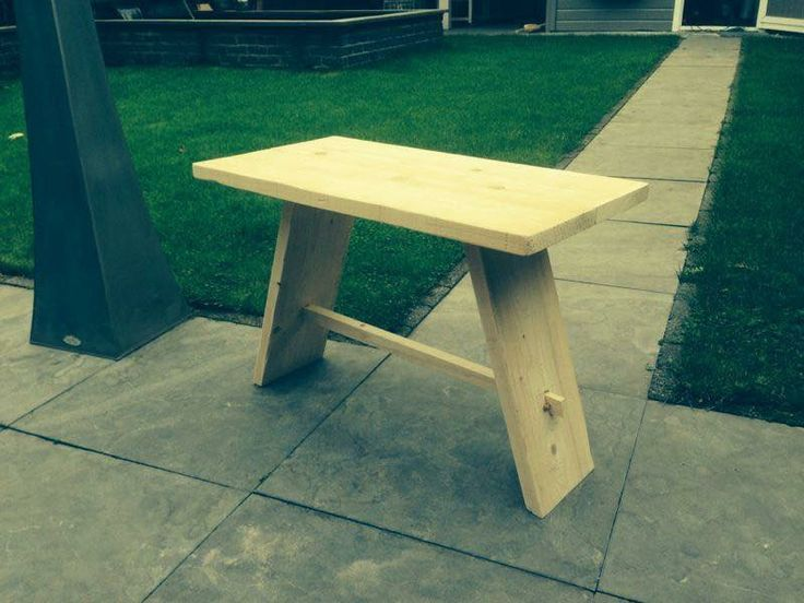 Wooden bench, hand made #woodbyberry
