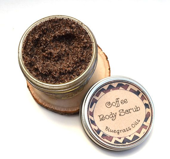 Coffee Scrub Coffee Body Scub Anti Cellulite by BluegrassOils