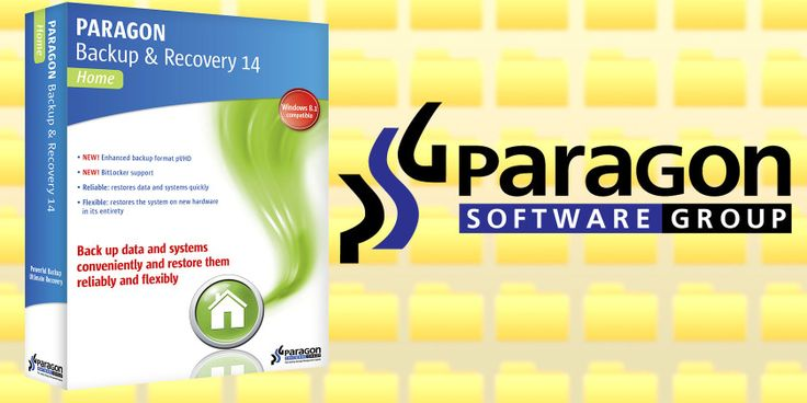 Never lose a file again with paragon backup and recovery