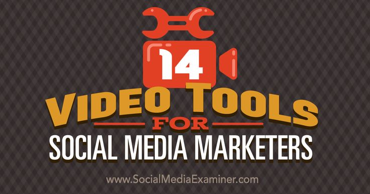 Do you want toadd video to your social mediamarketing? This article shares14 tools marketers can use to create screencasts, montages and slideshows.