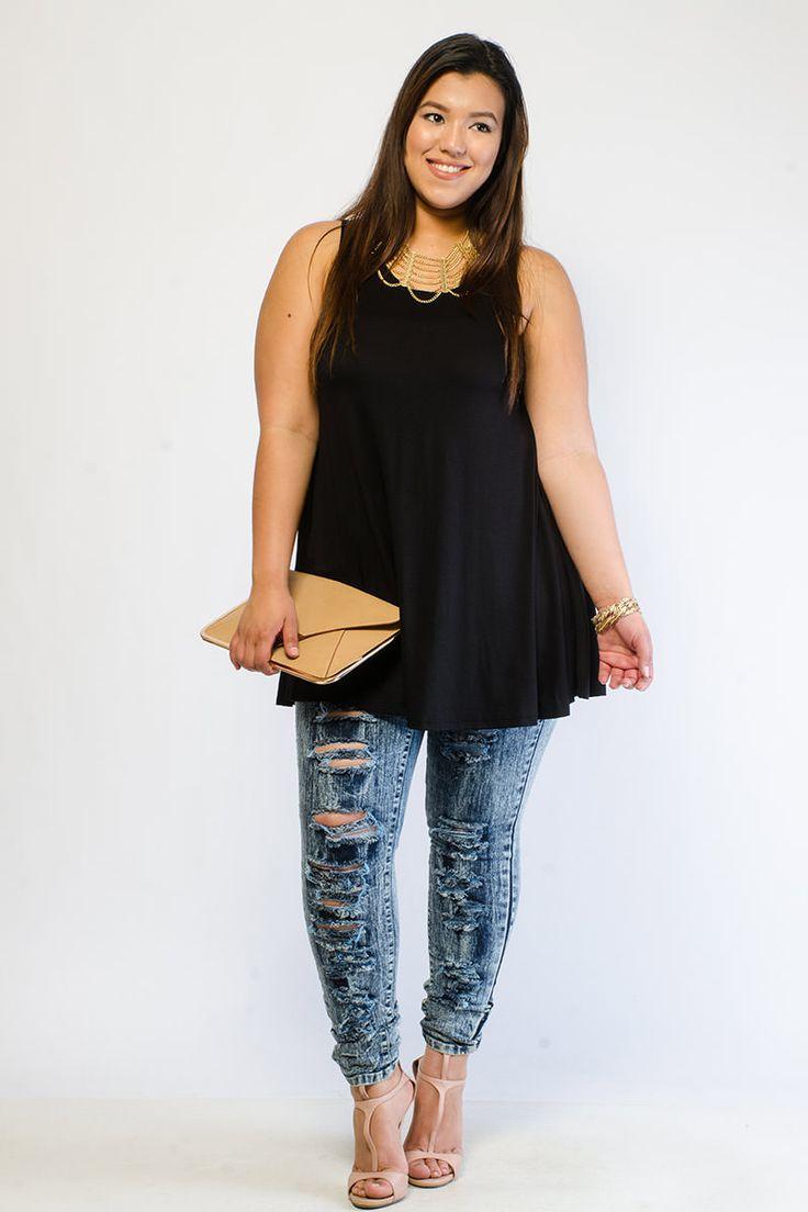 Trendy clothes for plus size women