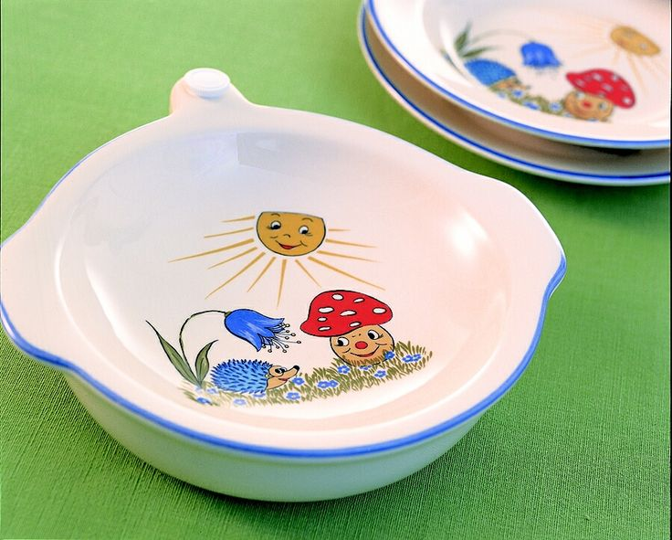 Coś dla dzieci, z takiej miseczki śniadanie będzie smakowało dużo lepiej. Twoja Jadalnia - Zeller Keramik.
