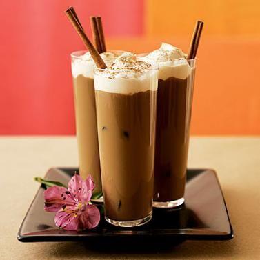Iced coffee... Kool.. 8-)