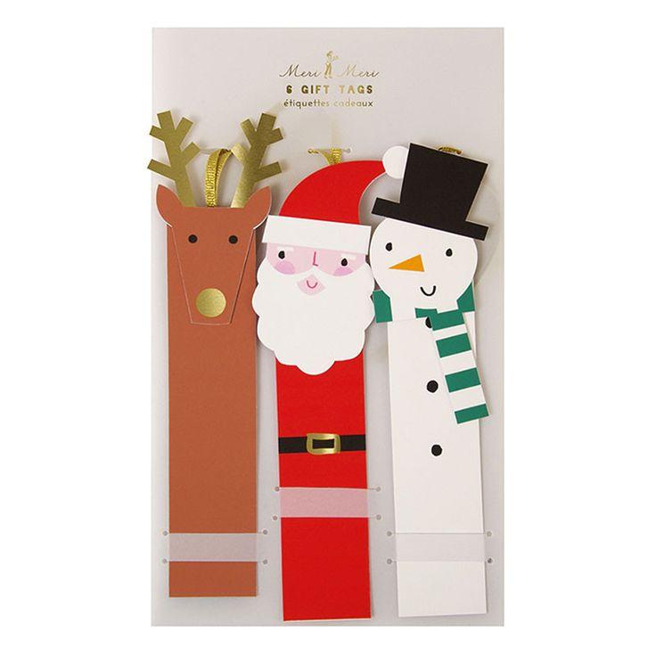 Christmas Characters Gift Tags