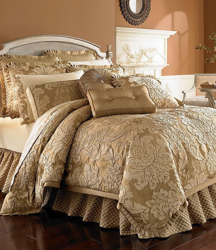 """J. Queen New York """"Contessa"""" Bedding Collection GOLD"""