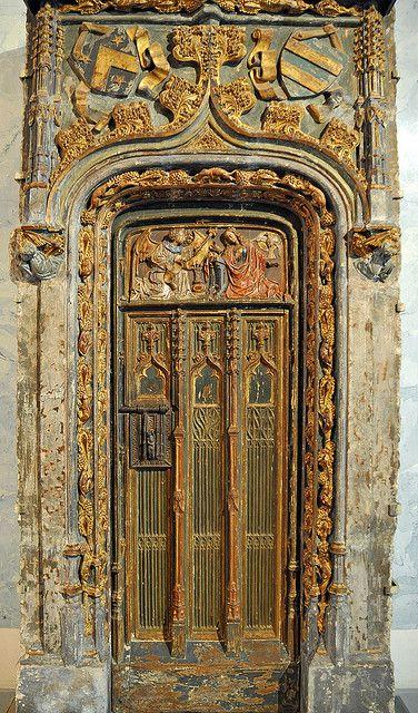 A Door in St Petersburg, Russia