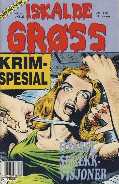 Cover for Iskalde Grøss (Semic, 1982 series) #4/1992