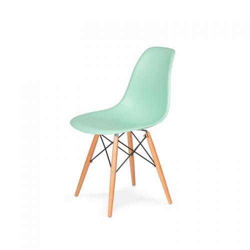Krzesło inspirowane DSW - pastelowa mięta - Nordic Decoration Home