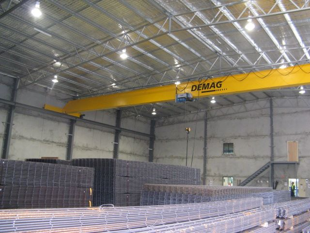 Structural steel buildings for steel fabrication, mining workshops and agricultural workshops