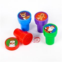Christmas Stampers - 24 per pack