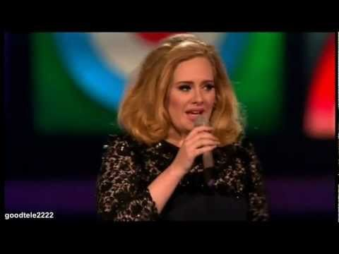 Adele Would Like To 'Fank You' For Supporting Her Career (Video)