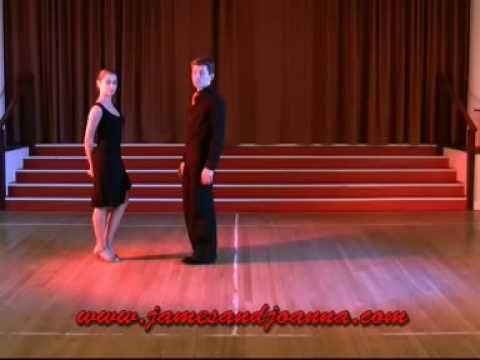 Basic Argentine Tango - YouTube// Forward Ochos and basic.