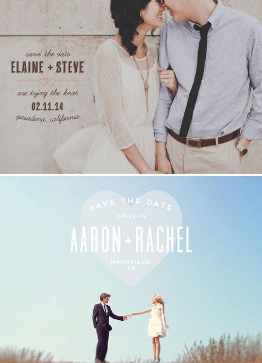 Fotografie nejen jako svatební oznámení - Originální Svatba