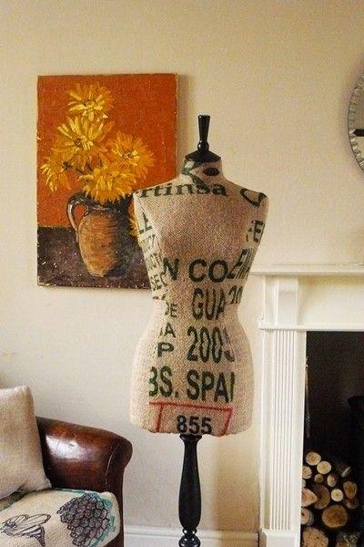 Coffee Sack Mannequin