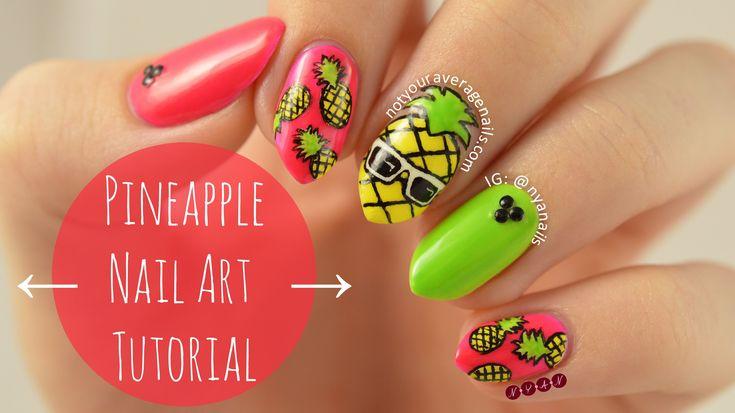 Pineapple (#PINee) Nail Art Tutorial