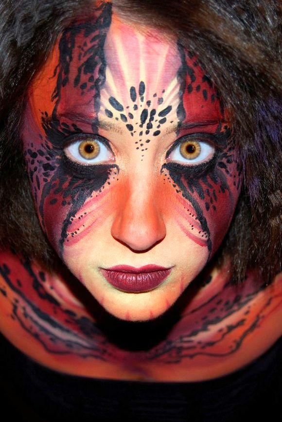 114 Best Face Paint Images On Pinterest Artistic Make Up