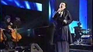 K.D. Lang sings Leonard Cohen's Hallelujah, via YouTube.