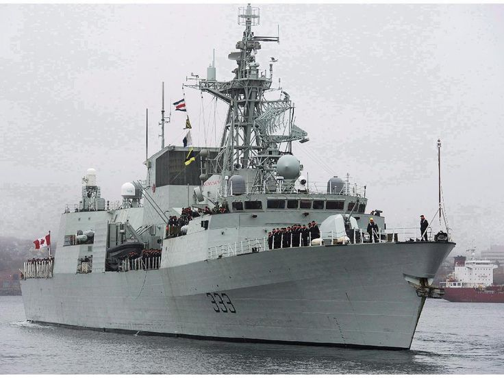 Royal Canadian Navy Halifax class frigate HMCS Toronto.