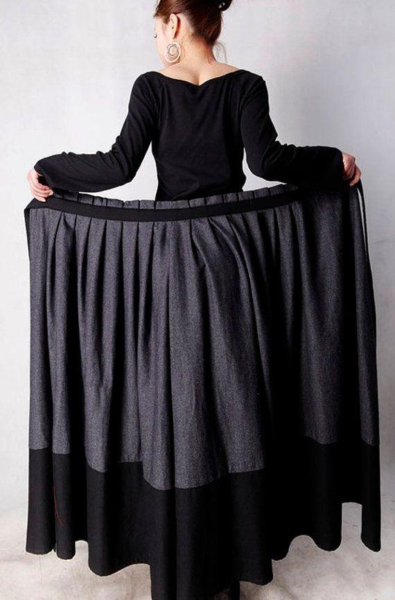 same skirt as green and black skirt, wrap skirt: