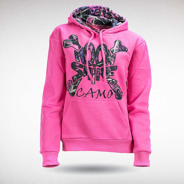 Moon Shine Camo - Muddy Girl Solid Pink Hoody, $49.99 (http://shop.moonshinecamo.com/muddy-girl-solid-pink-hoody/)