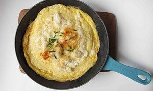 The perfect omelette Arnold Bennett