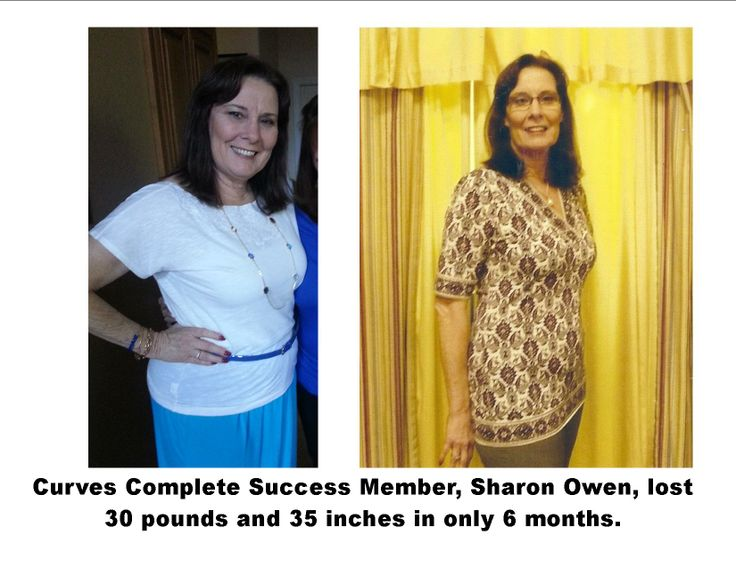 Curves Complete Success Member, Sharon Owen, lost 30 pounds and 35 inches in only 6 months.