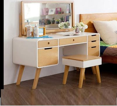 Ultimate guide to choosing and buying a dressing table for your bedroom, luxury modern dressing table designs, corner dressing tables, wooden and metal design ideas for 2018