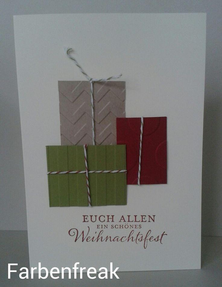 Geschenke Weihnachtskarte