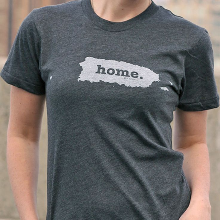 The Puerto Rico Home T-shirt is a stylish way to show off your state pride, while also helping raise money for multiple sclerosis research.The Home T is 100% made in the USA, and we use a high-quality unisex t-shirt that is insanely soft. In fact, it will be one of the softest, most comfortable shirts you