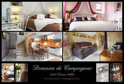 Pièces de vie des Gîtes et chambres d'hôtes à vendre à Carsac-Aillac près Sarlat en Dordogne