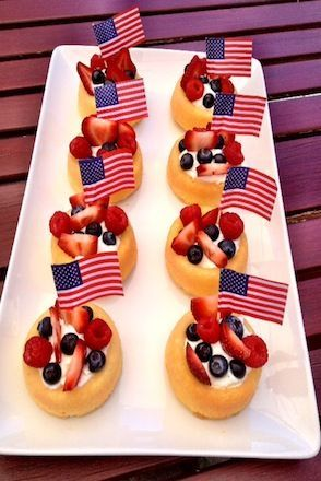 Star Spangled Shortcakes #4thofJuly
