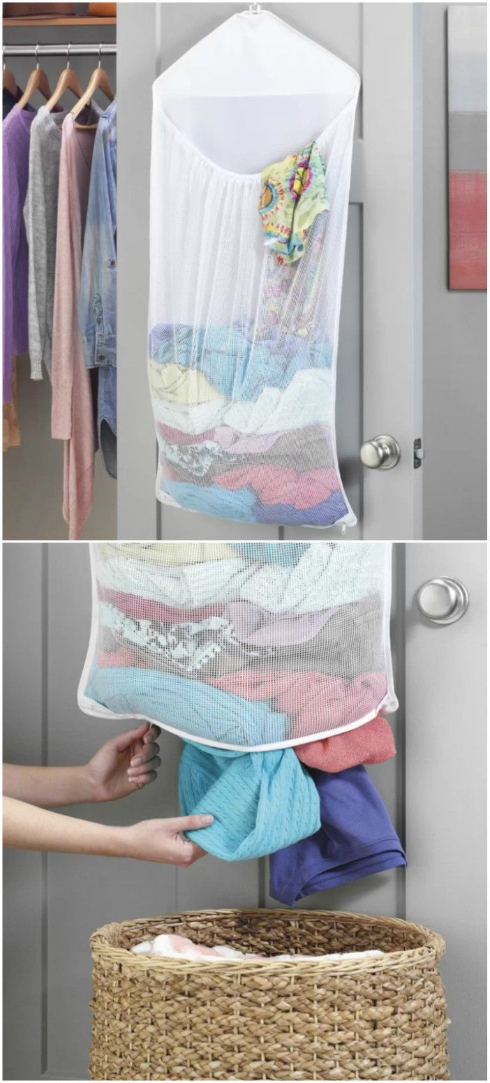 14 Brilliant Storage Ideas For Small Spaces Over Door Laundry