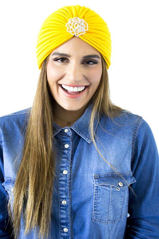 Bria Rose Turban, $35  www.vibejewels.com