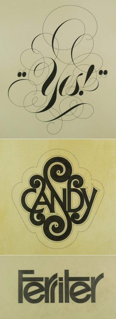 I want more Herb Lubalin inspired fonts!! Gorgeous!