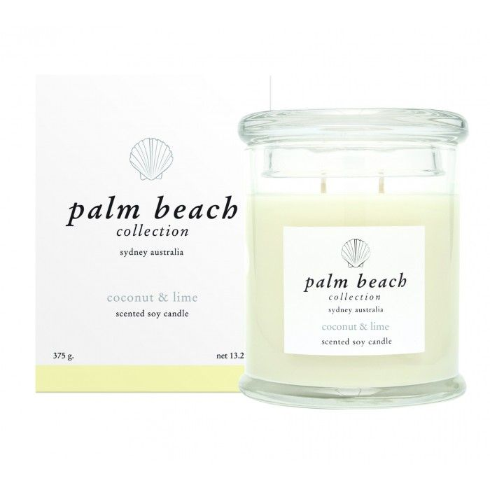 Palm Beach Collection Standard Candle Coconut And Lime 375g