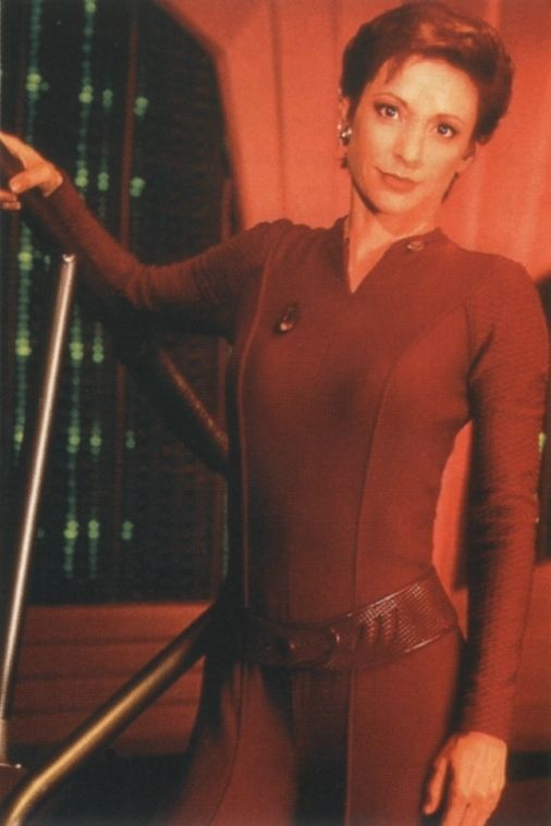 Kira Nerys - Strong, passionate and humble. Best female character in all of Star Trek (Deep Space Nine)