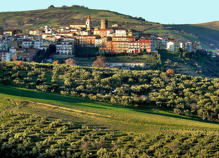 The village of Colletorto in Molise, Italy via diomed