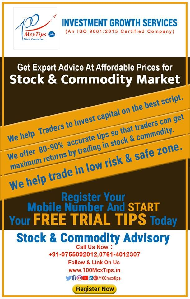 Get Stock And Commodity Market Tips Earn 5 10 Profit Every Week
