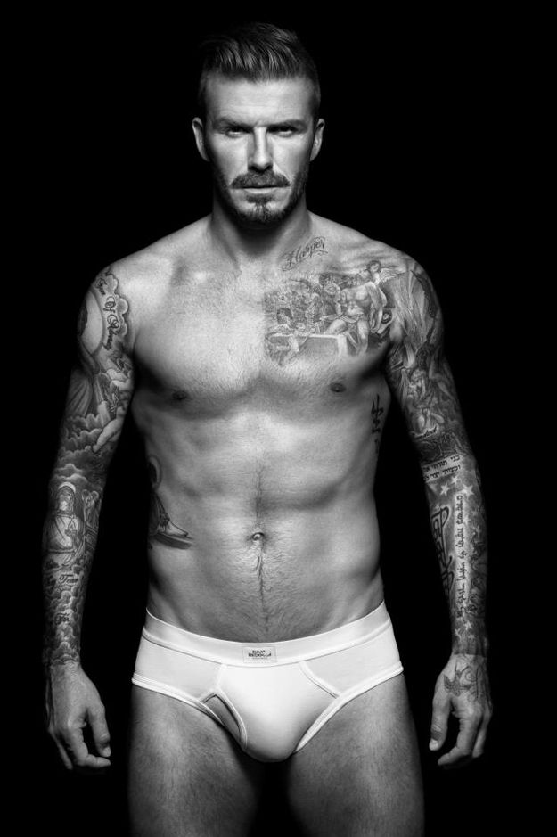 David Beckham's Sexy Underwear Ads - Jeez, is he even REAL?